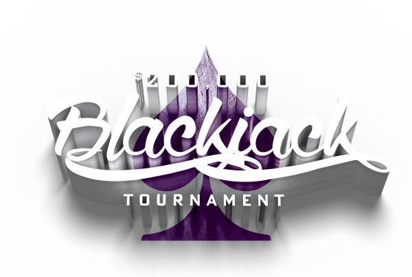 Artwork developed to promote Hard Rock Hotel & Casino's $200,000 Blackjack Tournament.